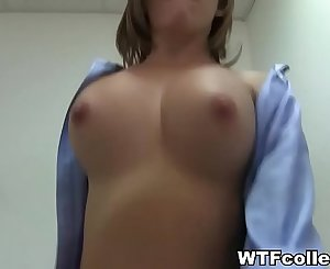 Incredibly Hot College Gal POV