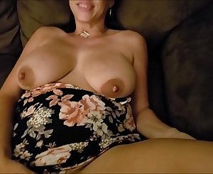 Hot wife milks huge jugs and big nipples! Then takes cum load in her pussy! COMMENTS and TRIBUTES welcome!!