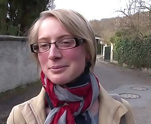 Nude in France - Diane - Gorgeous buxomy blonde hardly and deeply sodomized
