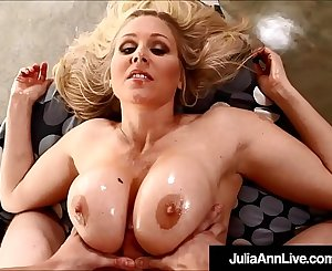 Motherly Milf Julia Ann Titty Fucked By Hard Cock!