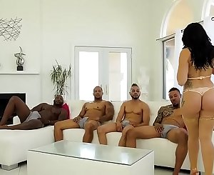 BLACKED OUT #10 Mandy Muse, Nat Turnher, Eddie Jaye, Dirk Huge, Donny