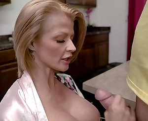 Joslyn James in Mom's Protein Diet