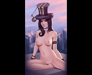 hentai league of legends especial caitlyn