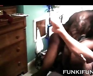 Really hot wife with BBC and spouse