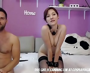 Submissive Couple Doing The BDSM Thing...